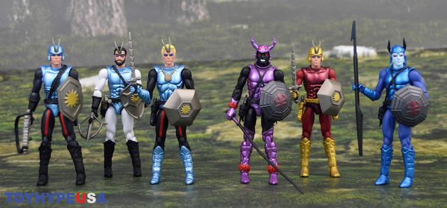 ZICA Toys – Sectaurs Warriors Of Symbion 4″ Figures Review
