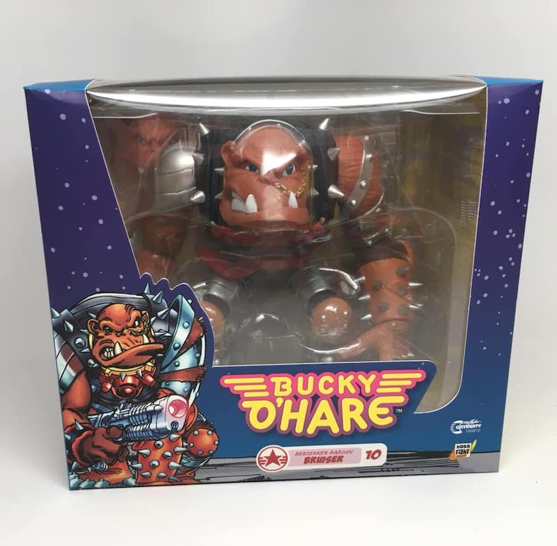 Bucky O'Hare – Bruiser The Betelgeusian Berseker Baboon Figure In-Packaging