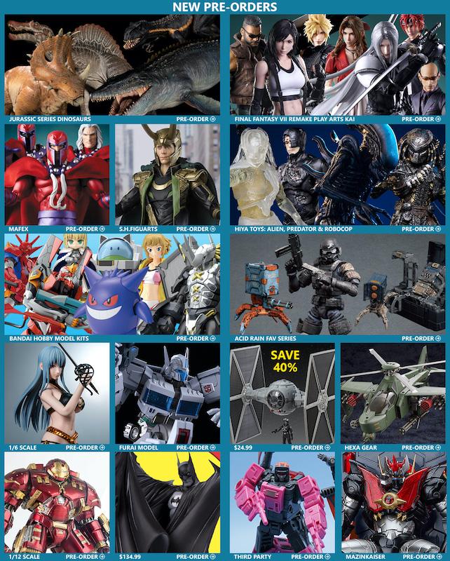 BigBadToyStore – Dinosaurs, FF7 Remake, Magneto, Loki, Star Wars, Batman, Alien, Predator, Bandai, & More