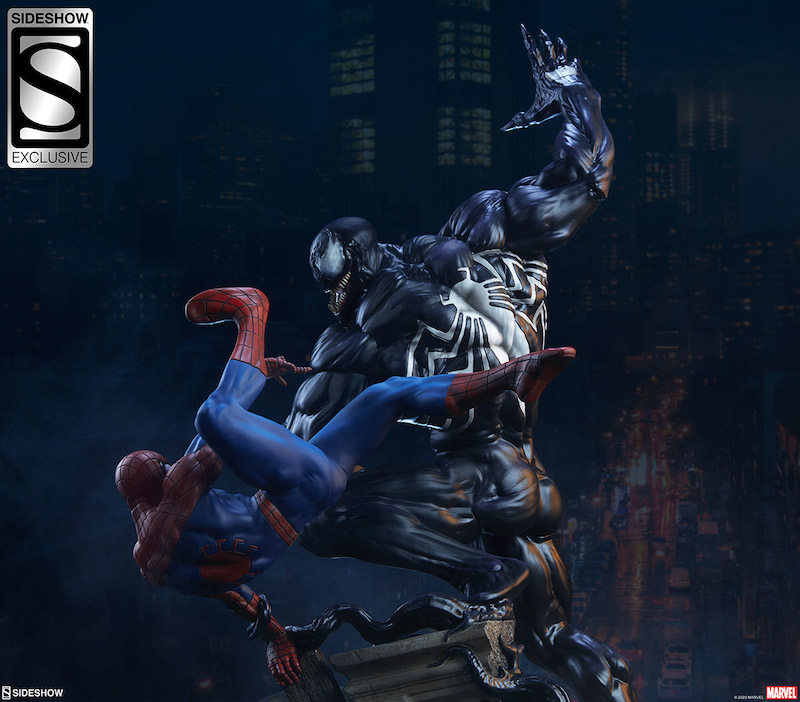 Sideshow Collectibles Marvel Comics – Spider-Man Vs Venom Maquette Pre-Orders