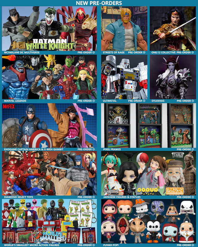 BigBadToyStore – DC Multiverse, One:12 Wonder Woman, Marvel Legends, MAFEX, WoW, Transformers, Street Fighter & More