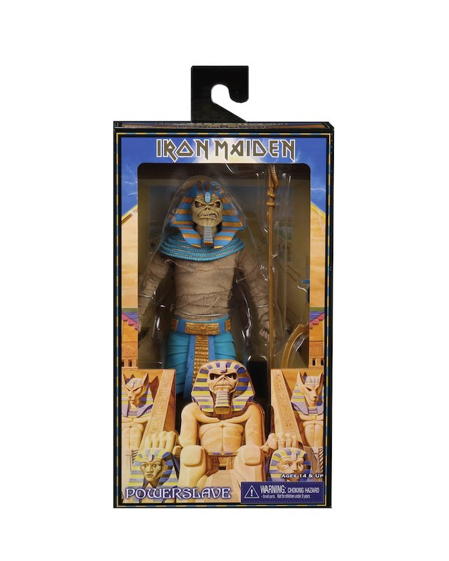 NECA Toys Iron Maiden 8″ Clothed Pharaoh Eddie Figure Available Now