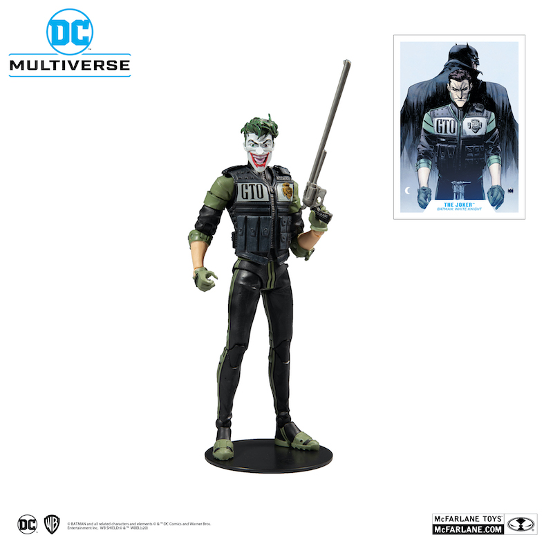 McFarlane Toys – DC Multiverse Batman: White Knight Figures
