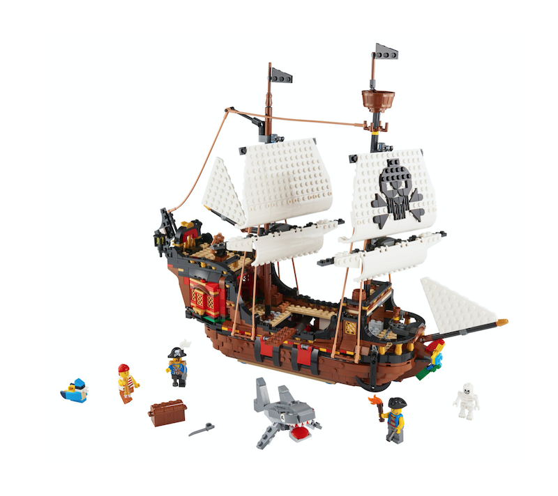LEGO Creator 3-In-1 Pirate Ship Coming Summer 2020