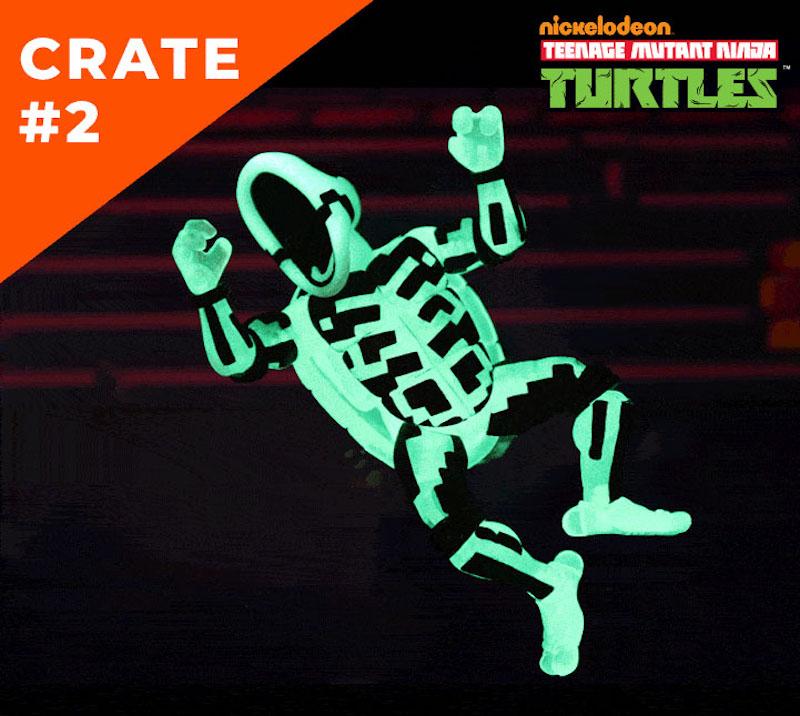 NECA Toys Teenage Mutant Ninja Turtles Lootcrate Exclusive Figure #2 Revealed