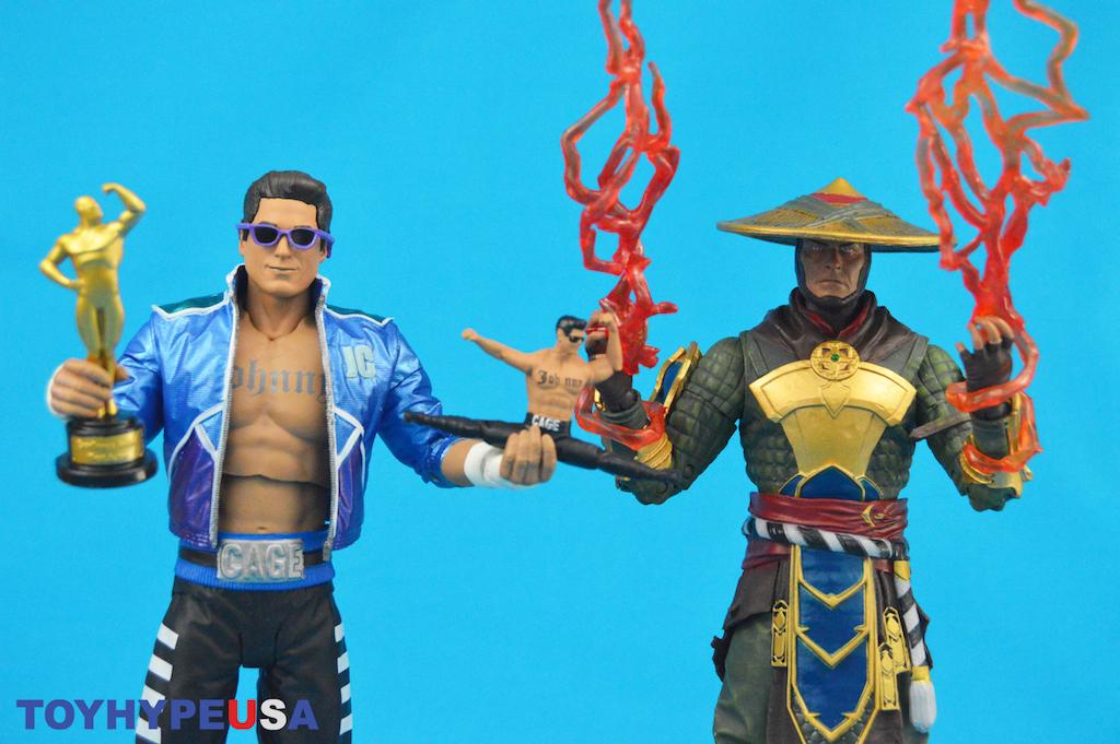 McFarlane Toys Mortal Kombat 11 Johnny Cage & Raiden Figures Review