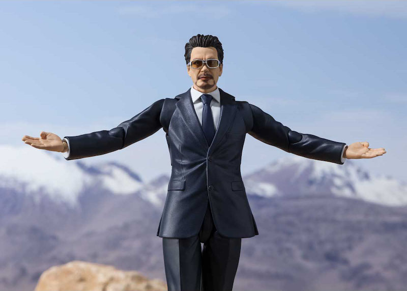 S.H. Figuarts Iron Man Movie – Tony Stark: Birth Of Iron Man Edition Figure