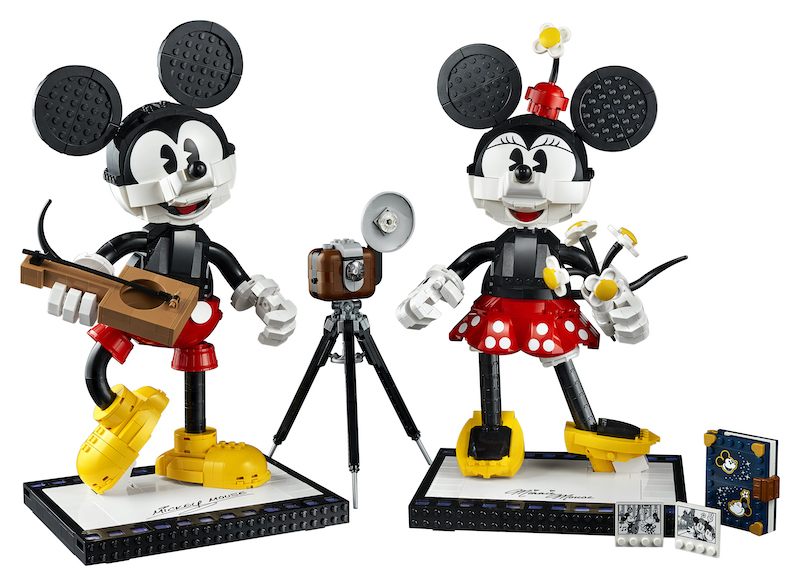 LEGO Disney Mickey & Minnie Mouse Set Coming July 1st To Pre-Order