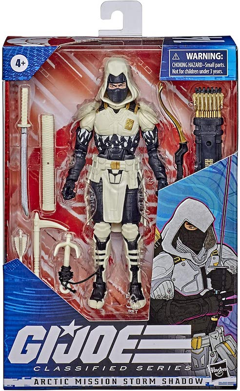 Hasbro G.I. Joe Classified 6″ Arctic Mission Storm Shadow – Amazon Exclusive Figure Pre-Orders