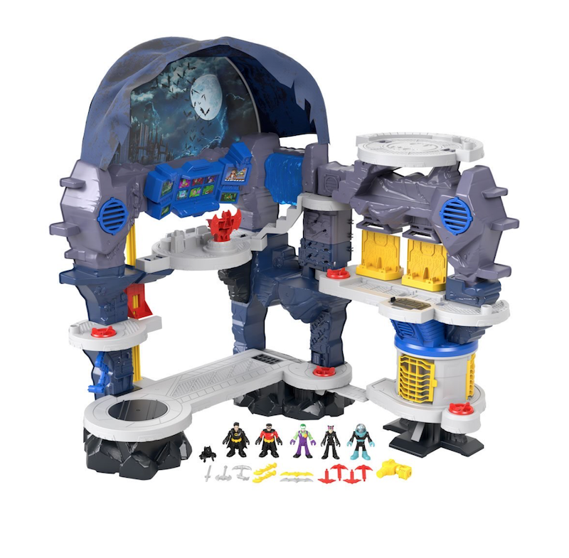 Fisher-Price Imaginext DC Super Friends Super Surround Batcave Playset In-Stock On Amazon