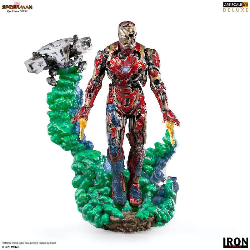 Iron Studios – Spider-Man: Far From Home – Iron Man Illusion Statue Pre-Orders