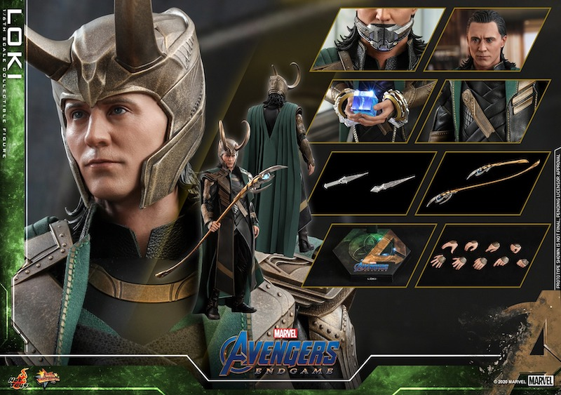 Hot Toys Avengers: Endgame Loki Sixth Scale Figure Pre-Orders