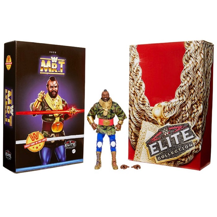 Entertainment Earth – Mattel SDCC 2020 Exclusive WWE Elite Mr. T Figure Pre-Orders Today