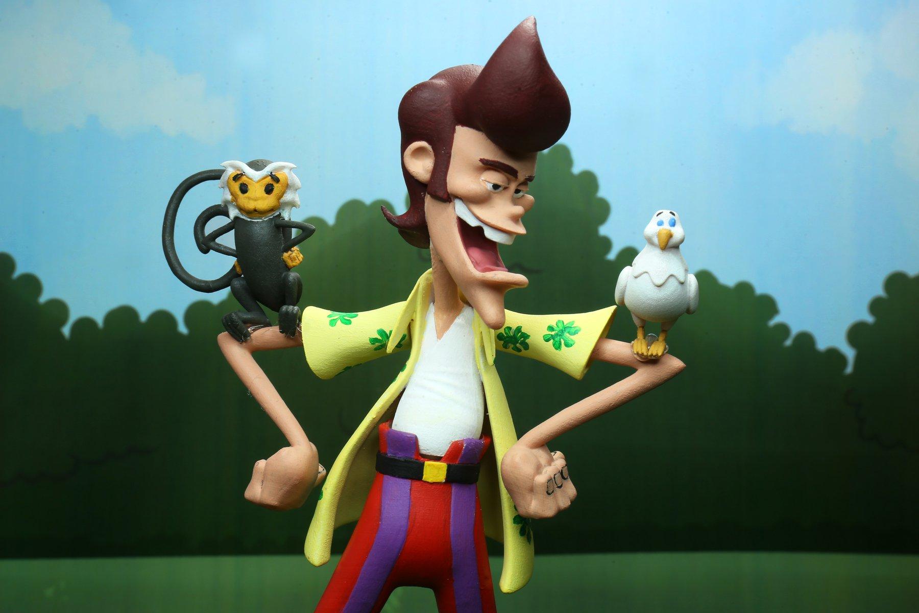 NECA Toys Announces Toony Classic Ace Ventura Figure