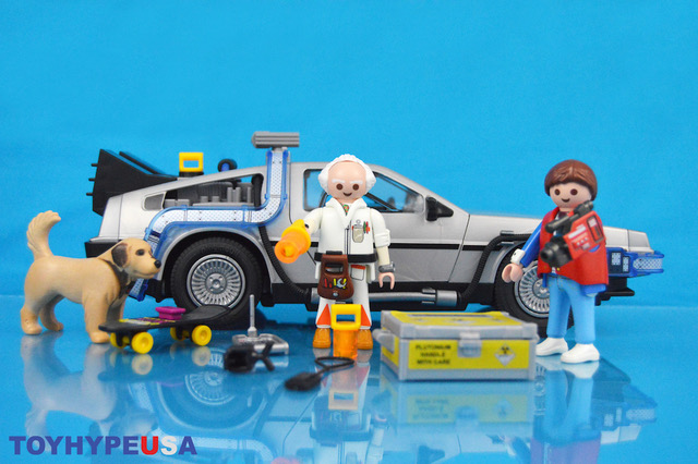 Playmobil Back to the Future DeLorean Time Machine & Marty McFly & Dr. Emmett Brown Sets Review