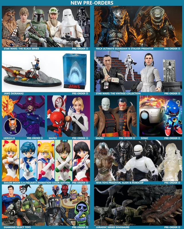 BigBadToyStore – Star Wars, Predator, Spider-Gwen, Batman: Hush, Alien, Jaws, Dinosaurs & More