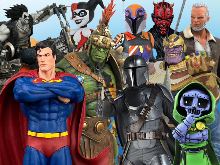 Diamond Select Toys Solicitations For November 2020 –  Star Wars, Marvel & DC