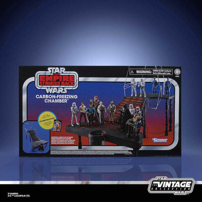 Hasbro Star Wars Reveals – Chewbacca, Boba Fett, The Vintage Collection Carbon-Freezing Chamber Playset