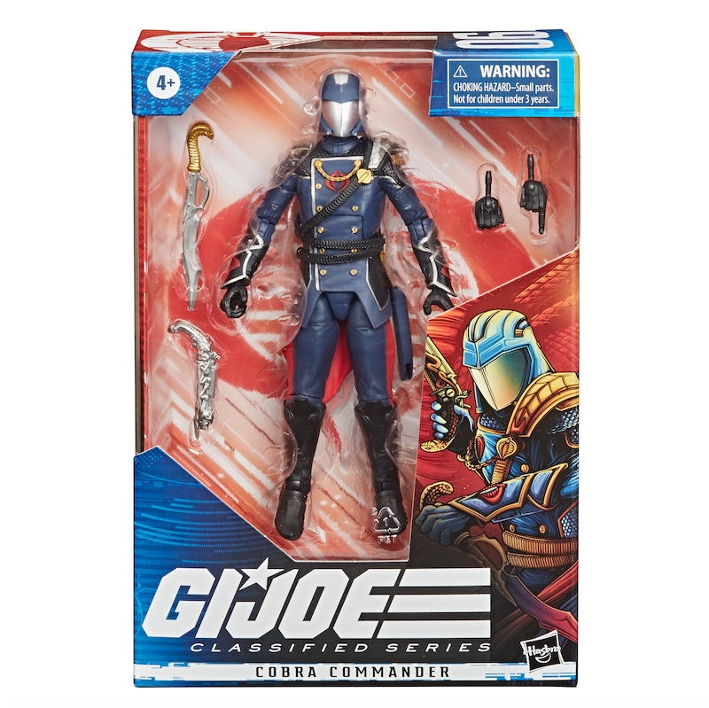 G.I. Joe Classified Series – Cobra Commander Joins The Line-Up – Official Press Release