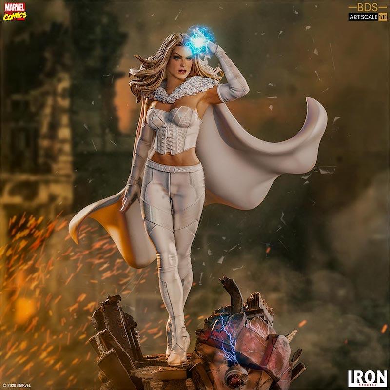Iron Studios – Marvel Comics X-Men Emma Frost 1/10 Scale Statue Pre-Orders