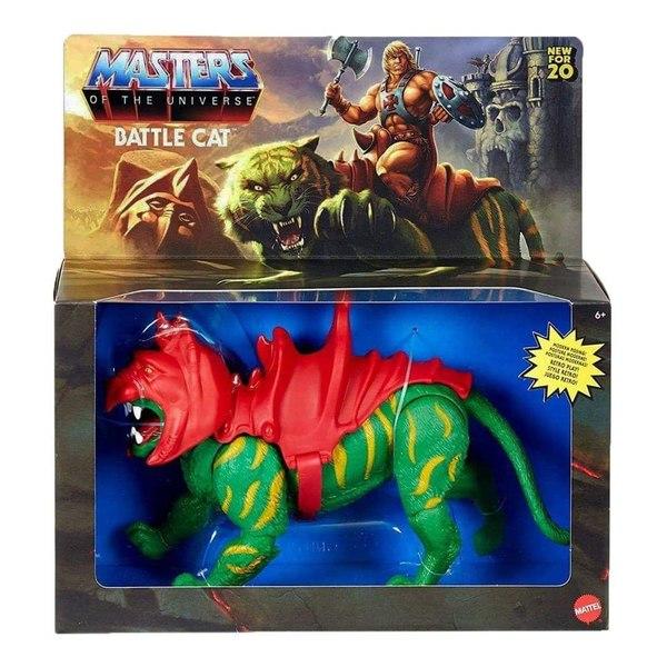 Mattel – Masters Of The Universe Origins Battle Cat, He-Man & More Figures In-Packaging