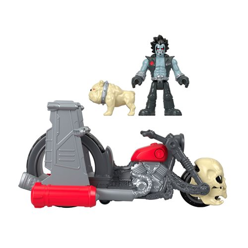 Entertainment Earth – Fisher-Price Imaginext DC Super Friends Lobo & Motorcycle Set Pre-Orders