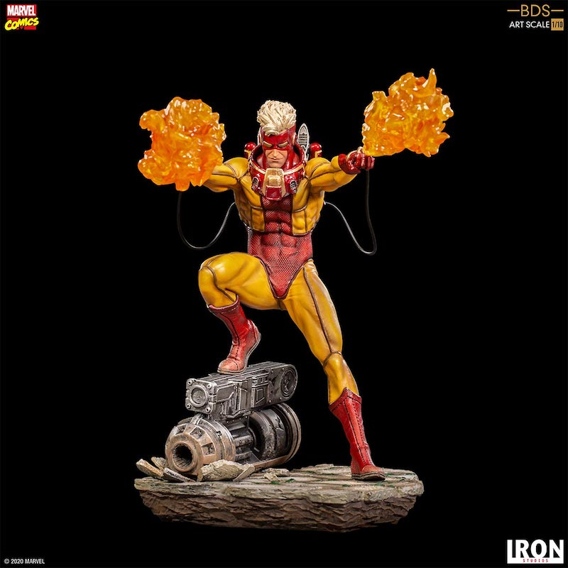 Iron Studios – Marvel Comics X-Men Pyro 1/10 Statue Pre-Orders