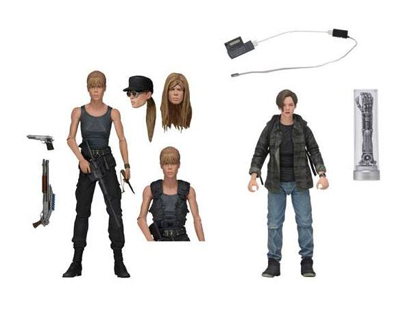 NECA Toys Terminator 2: Judgment Day – Sarah & John Connor Figure 2-Pack