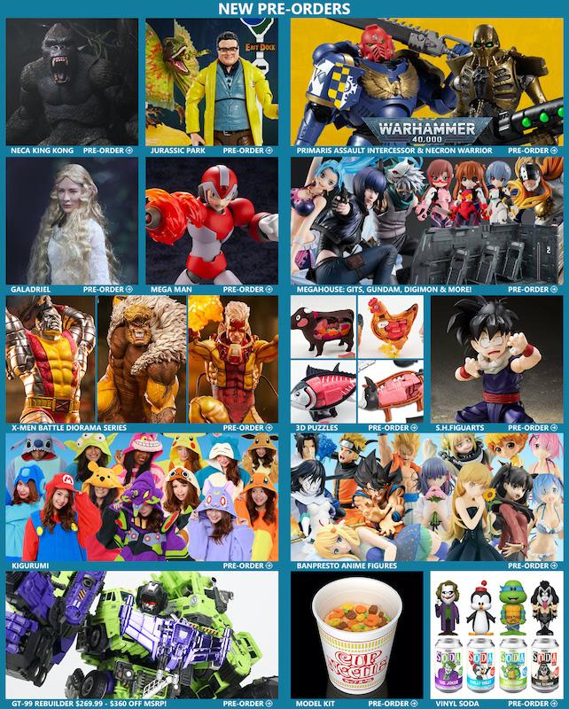 BigBadToyStore – King Kong, Warhammer, Jurassic Park, Mega Man, LotR, Dragon Ball, Gundam & More