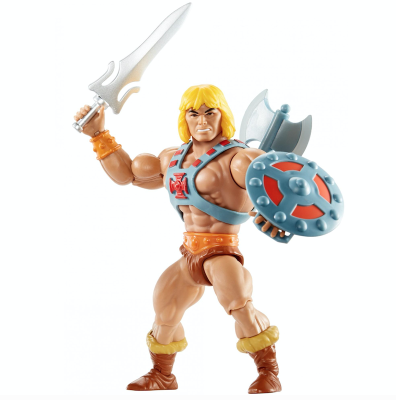 Mattel – Masters Of The Universe Origins He-Man Figure & More Listed At Wal-Mart