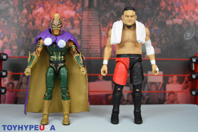 Mattel – WWE Elite Rey Mysterio Vs Somoa Joe Figure 2-Pack Review
