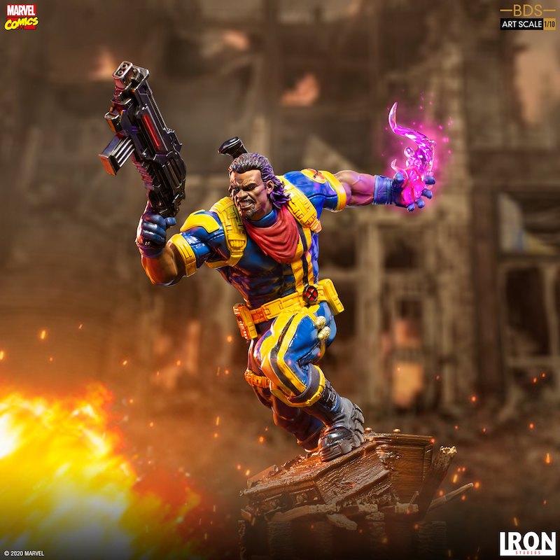 Iron Studios – Marvel Comics X-Men Bishop 1/10 Scale Statue Pre-Orders