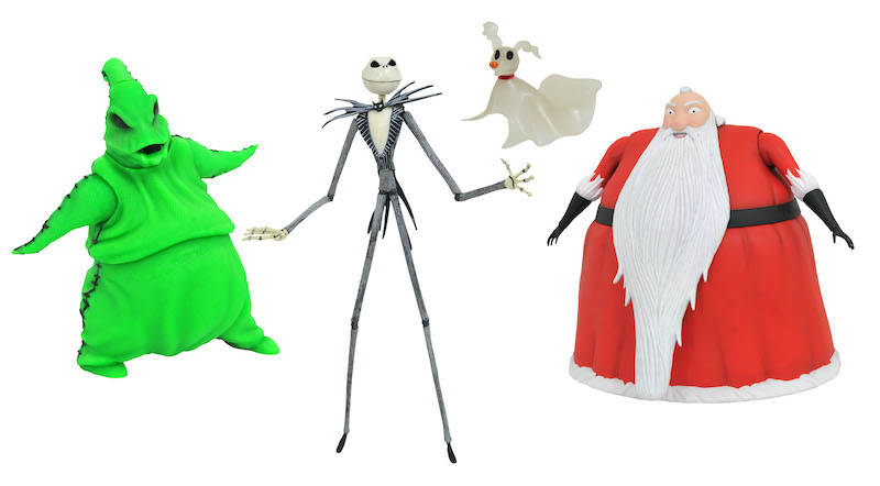 Diamond Select Toys SDCC 2020 Exclusive – The Nightmare Before Christmas Box Set