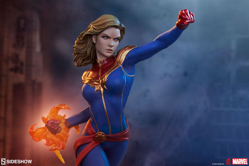 Sideshow Collectibles Marvel Comics – Captain Marvel Statue Pre-Orders