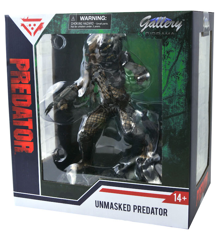 Diamond Select Toys SDCC 2020 Exclusive – Unmasked Jungle Predator PVC Diorama