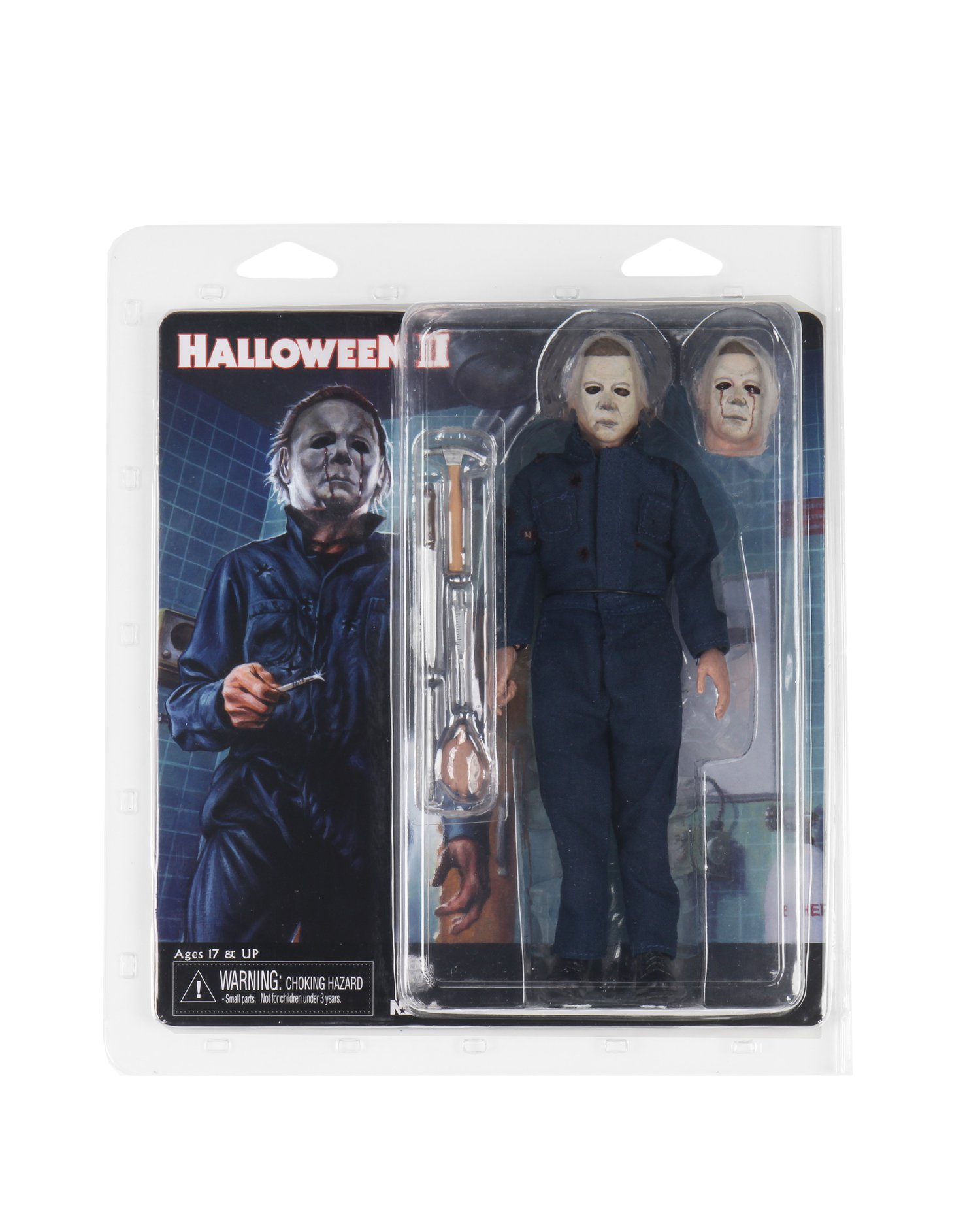 NECA Toys Halloween 2 Michael Myers 8″ Clothed Figure Available Now