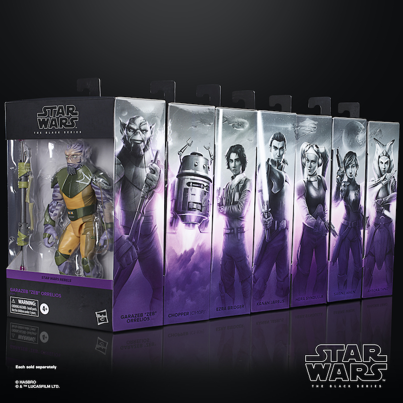 Hasbro Star Wars The Black Series – Star Wars Rebels Zeb, The Mandalorian & More New Pre-Orders
