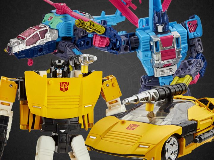 Hasbro Transformers War For Cybertron: Earthrise Rotorstorm & Tigertrack Figure Pre-Orders