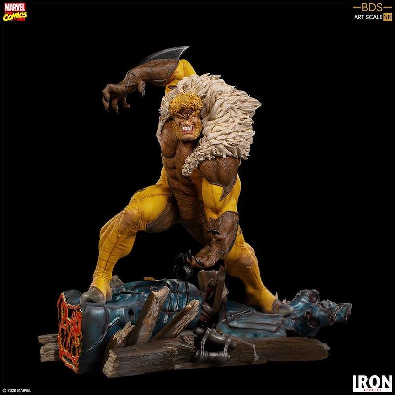 Iron Studios – Marvel Comics X-Men Art Scale 1/10 Sabretooth Statue Pre-Orders