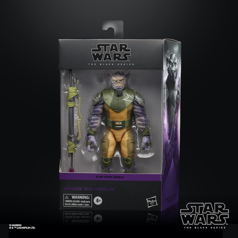 Entertainment Earth – Star Wars The Black Series Zeb Orrelios Figure In-Stock