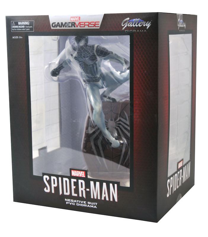 Diamond Select Toys SDCC 2020 Exclusive – Negative Suit Spider-Man Statue