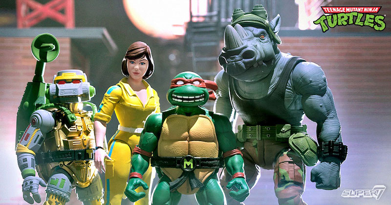 Submit Your Teenage Mutant Ninja Turtles Ultimates & ReAction Figure Questions For An Interview With Super7's Brian Flynn
