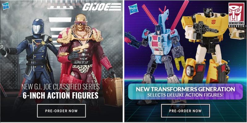 Entertainment Earth – Hasbro G.I. Joe Classified, Transformers & More