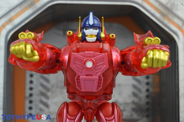 Takara-Tomy Transformers Masterpiece Edition MP-39+ Beast Wars Burning Convoy Figure Review