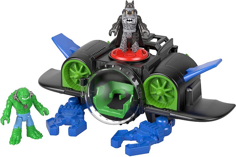 Fisher-Price Imaginext DC Super Friends Batsub With Batman & Killer Croc Figures