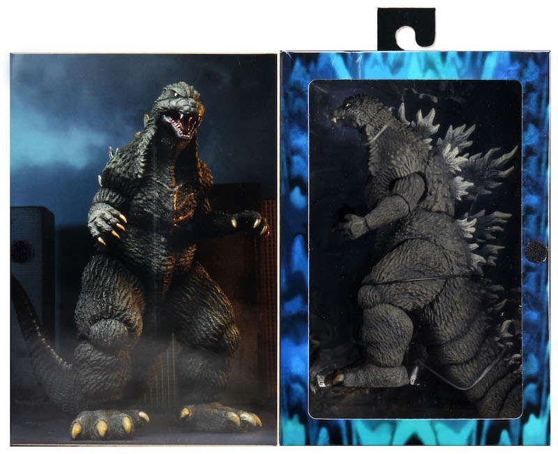 NECA Toys Godzilla – 1989 & 2003 12″ Head-to-Tail Figures Available Now