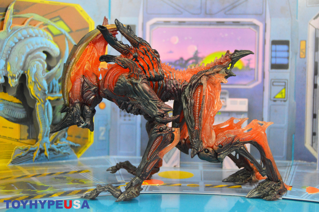 NECA Toys Kenner Tribute Rhino Alien Figure Review