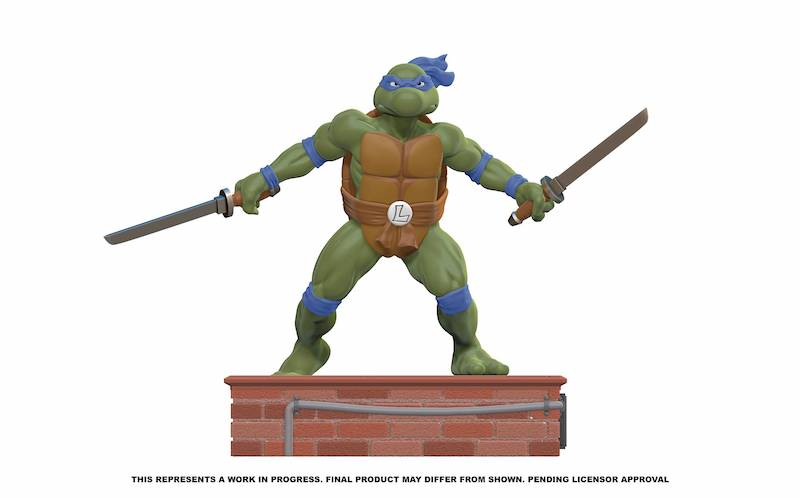 Pop Culture Shock – Teenage Mutant Ninja Turtles 1/8th Scale Statues Pre-Orders