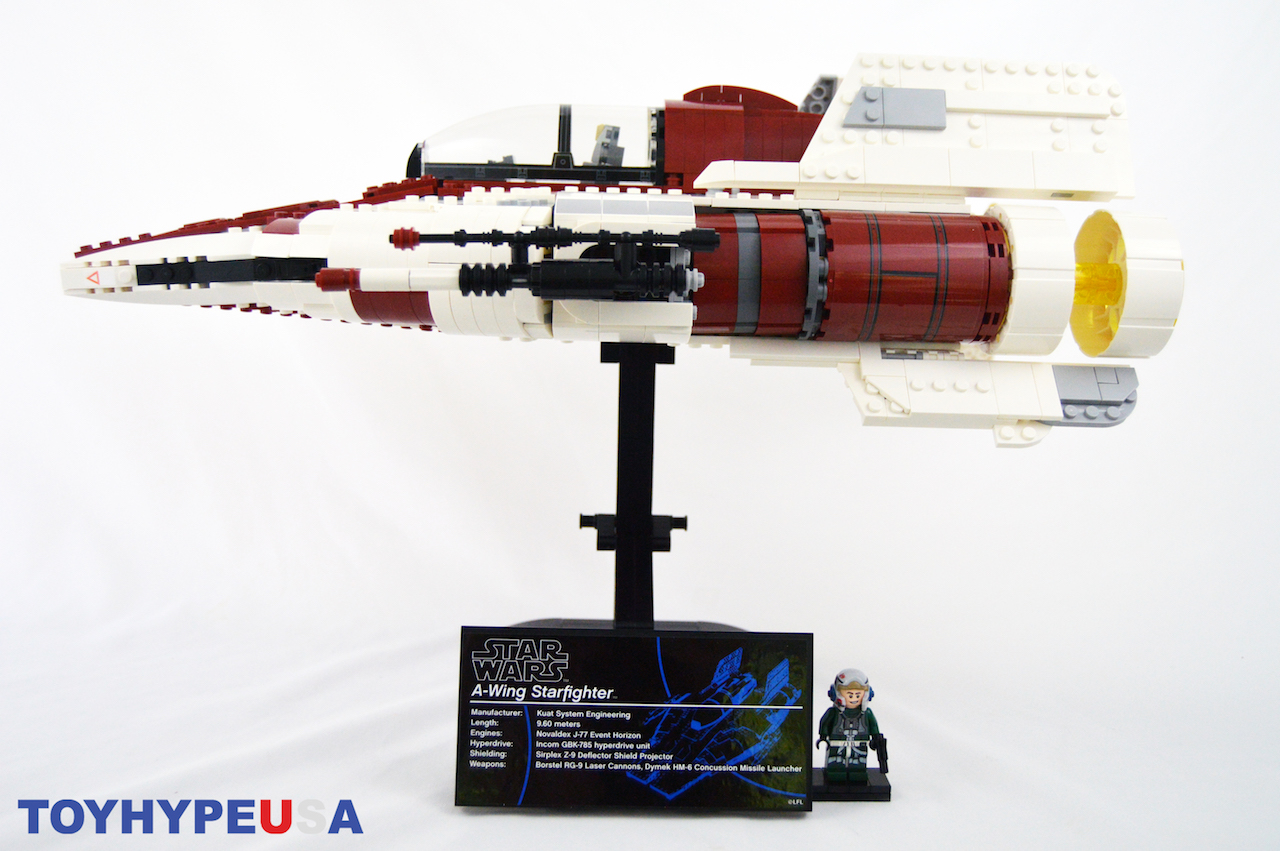 LEGO Star Wars A-Wing Starfighter 75275 Set Review