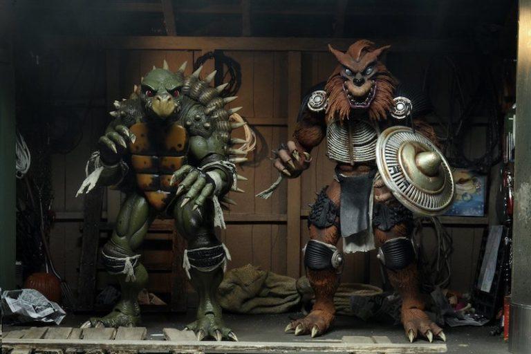 NECA Toys Teenage Mutant Ninja Turtles II: The Secret of the Ooze – Tokka & Rahzar Figure Pre-Orders Ends Today